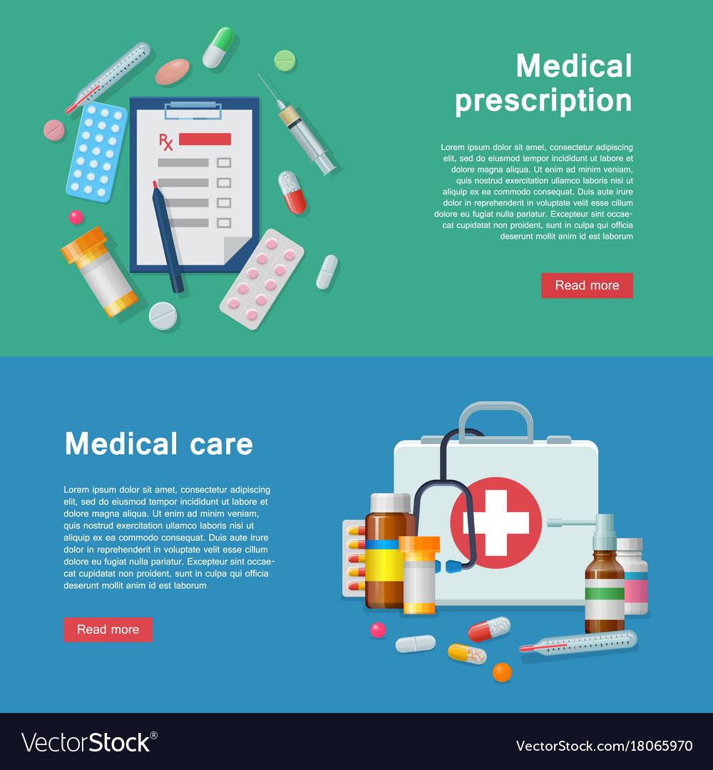 Medical equipment prescription first aid supplies