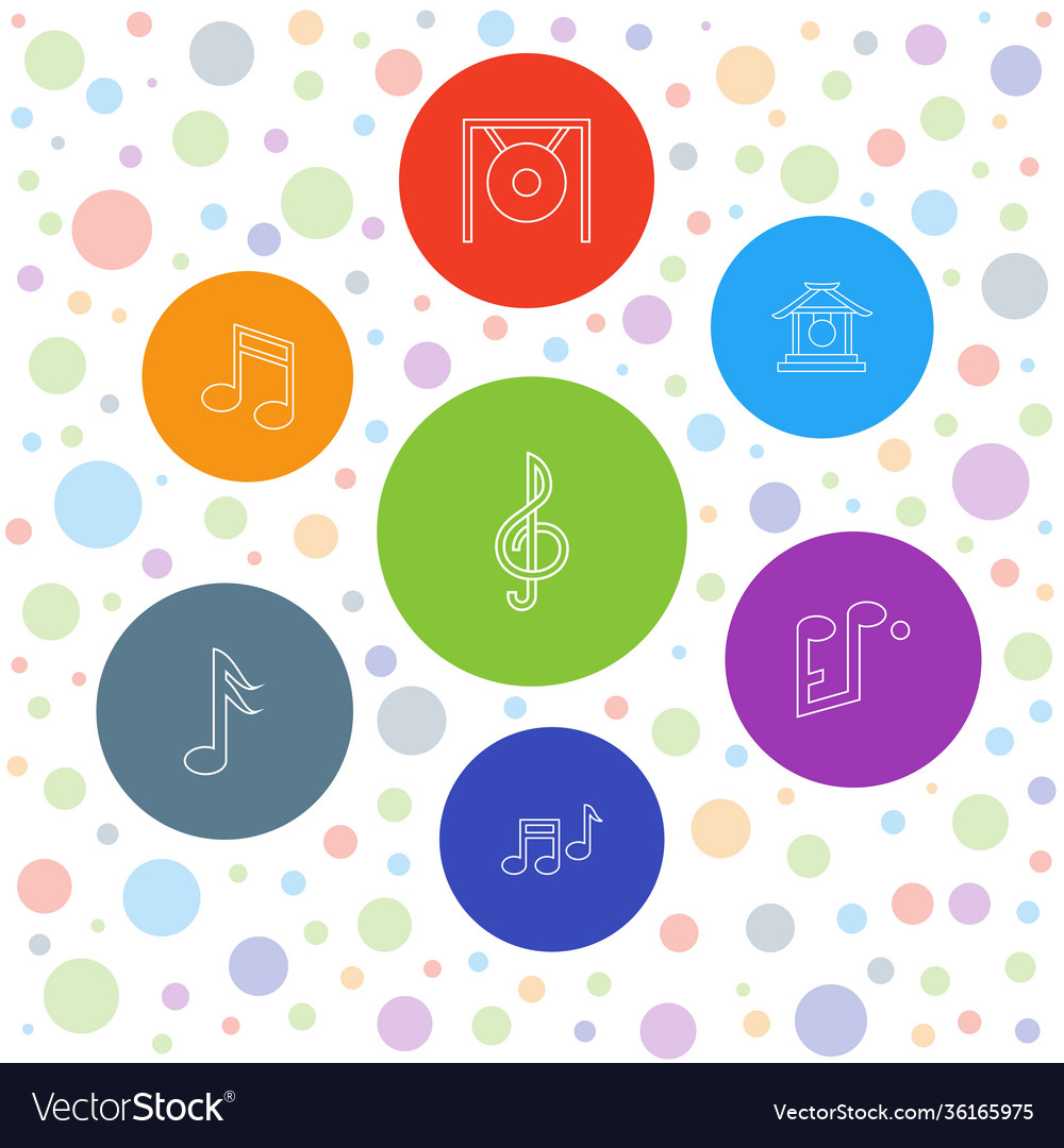 7 melody icons