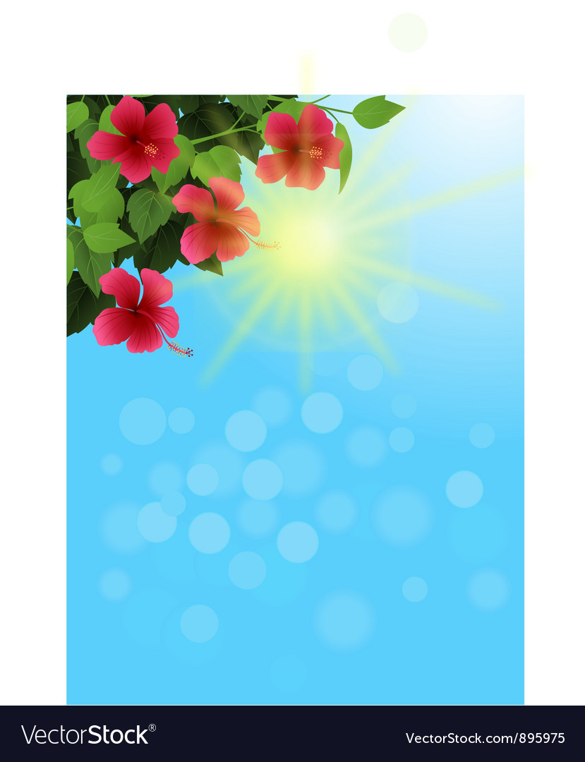 Nature background background vector image