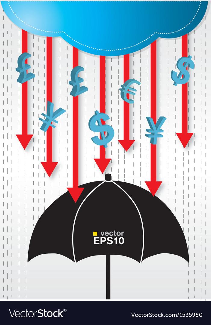 Financial Conceptual vector image