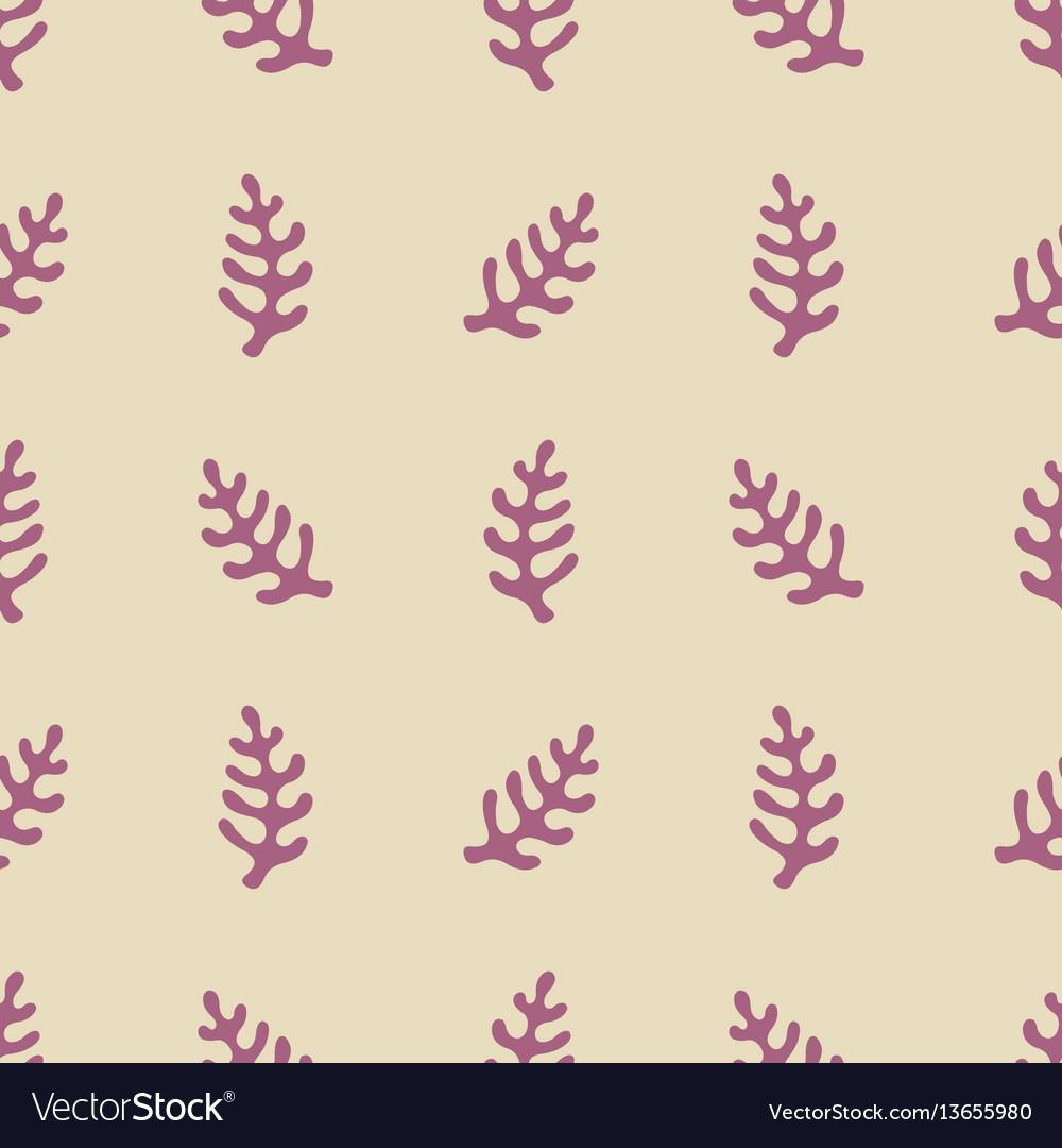 Seamless pattern with stylized elements