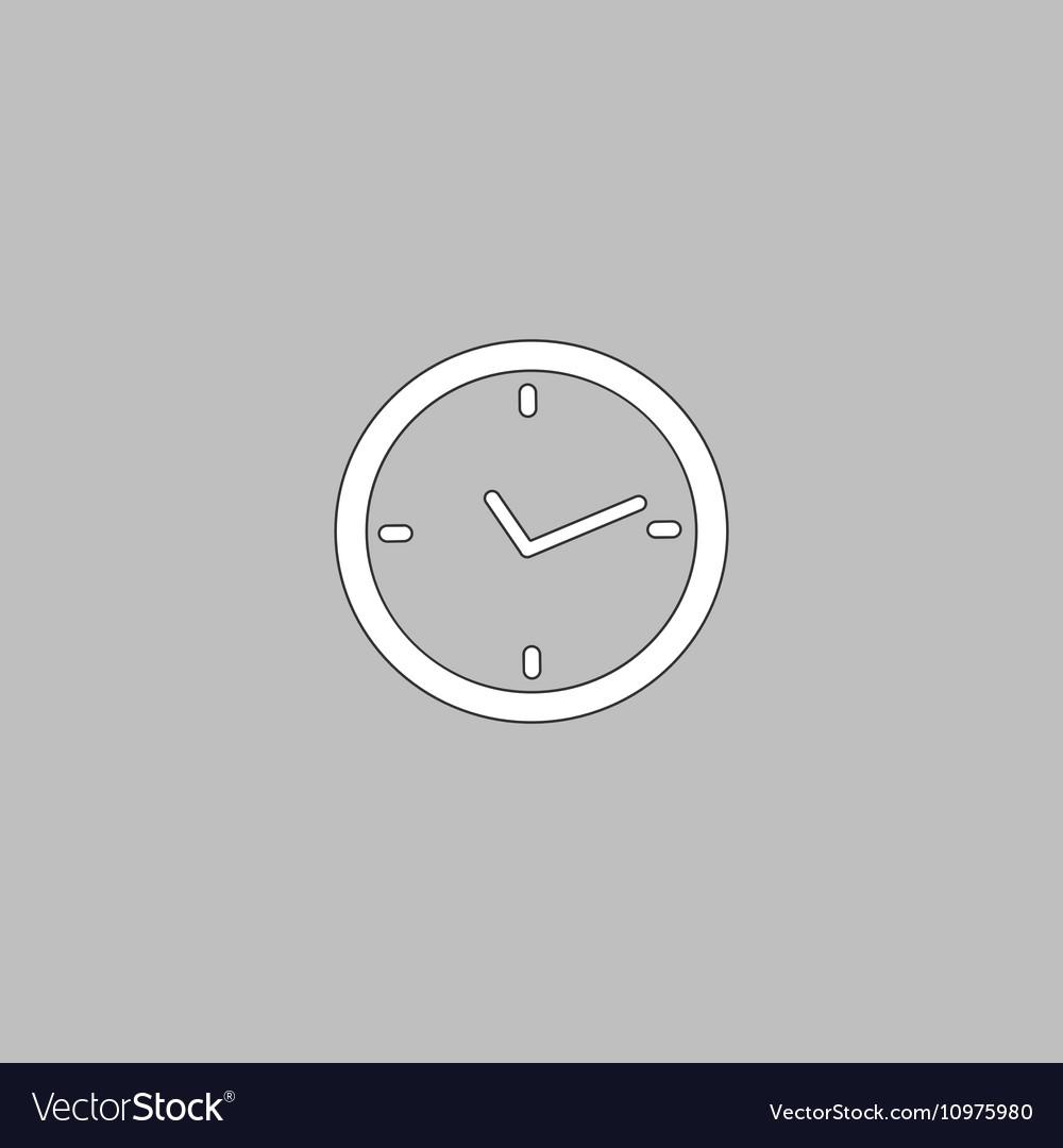 Watch computer symbol vector image