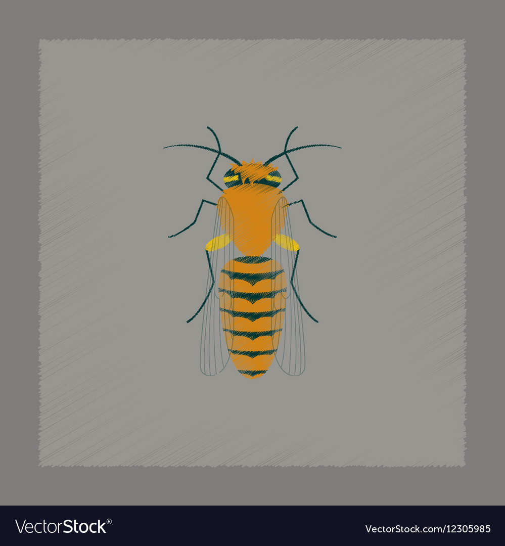 beehive bee abstract logo design template