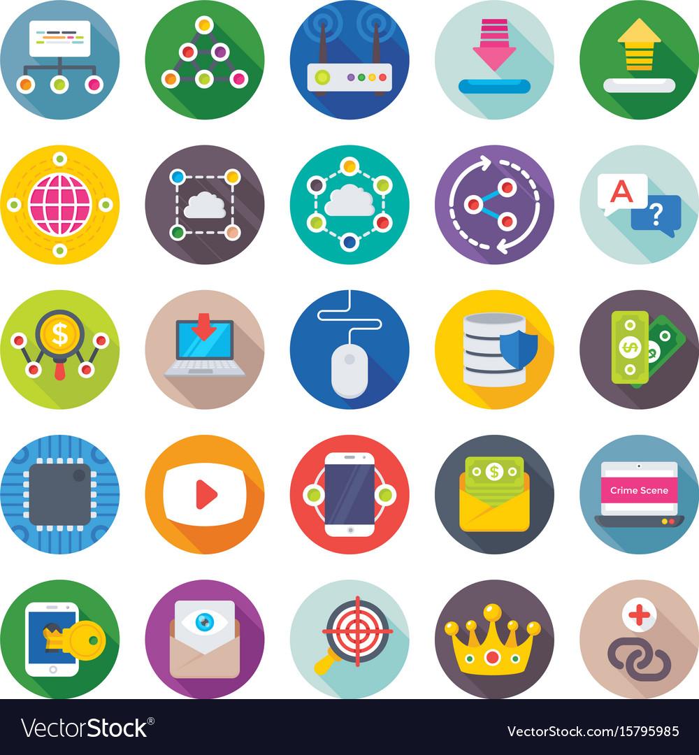 Seo and digital marketing icons 15