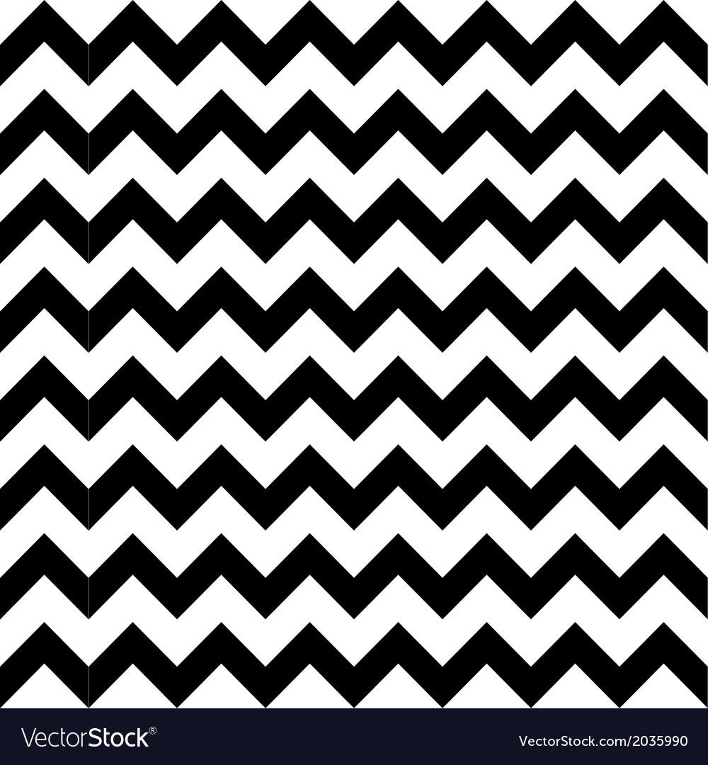Abstract geometric zigzag seamless pattern