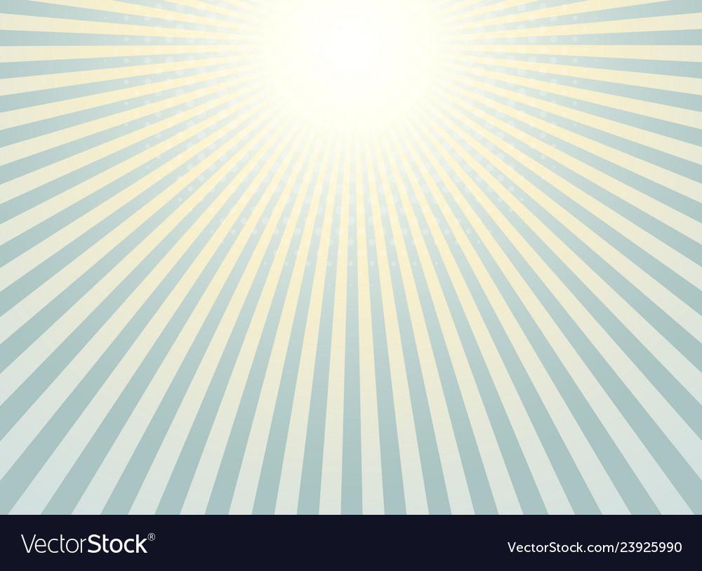 Abstract sunburst background vintage of halftone