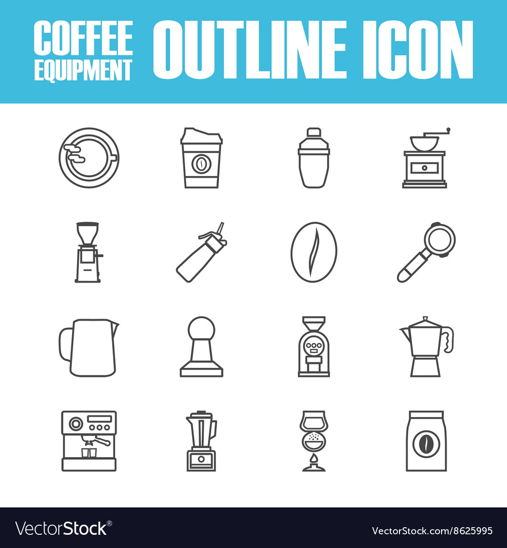 263outline coffee icon