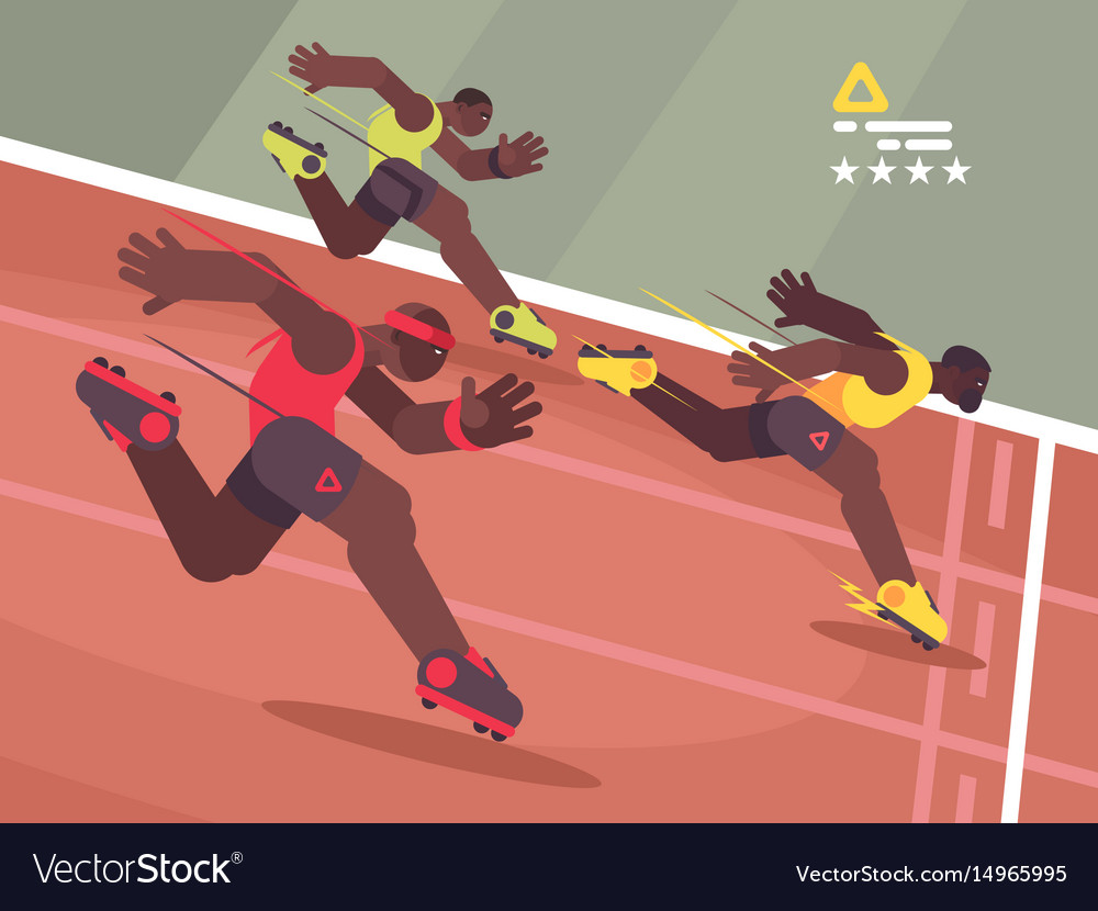 Athletics competition sprint