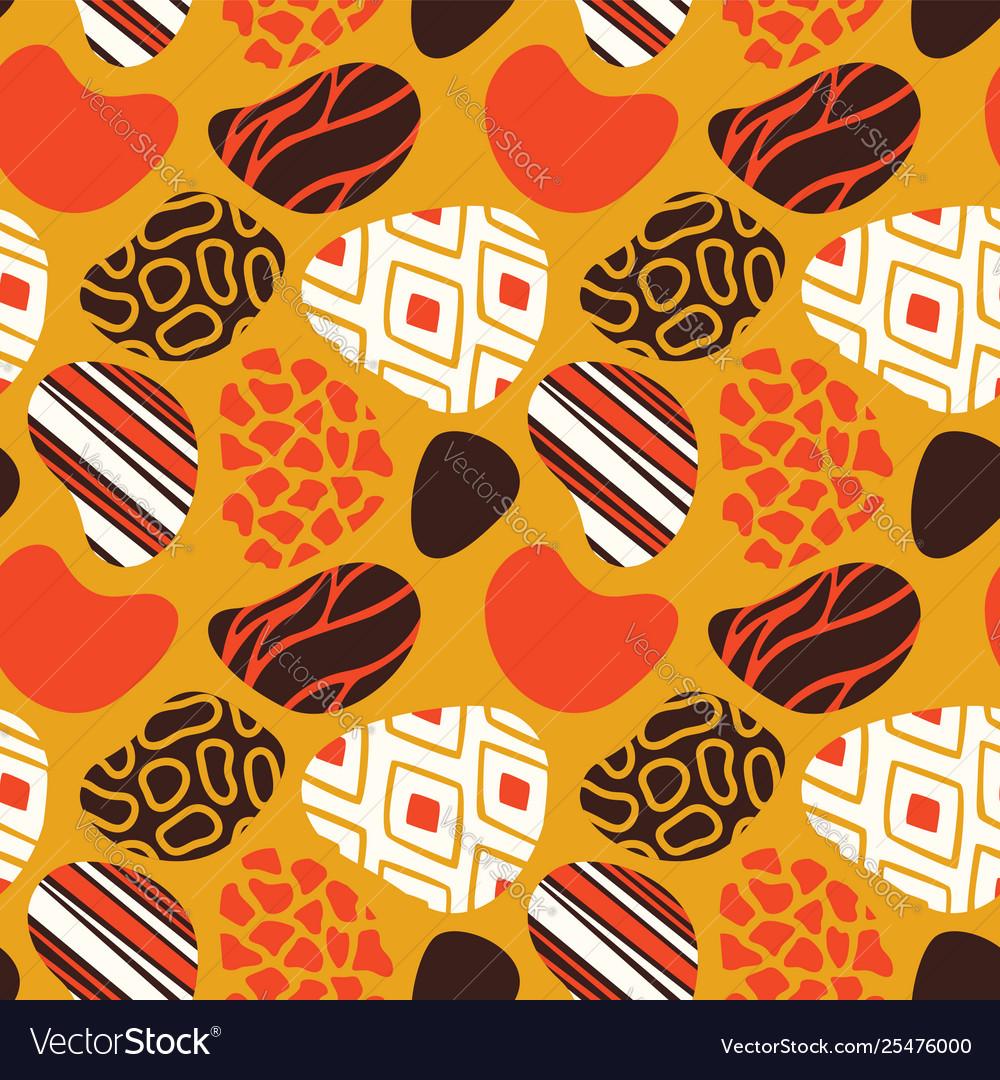 African art seamless tribal pattern
