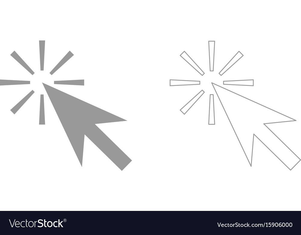 Mouse click the grey set icon