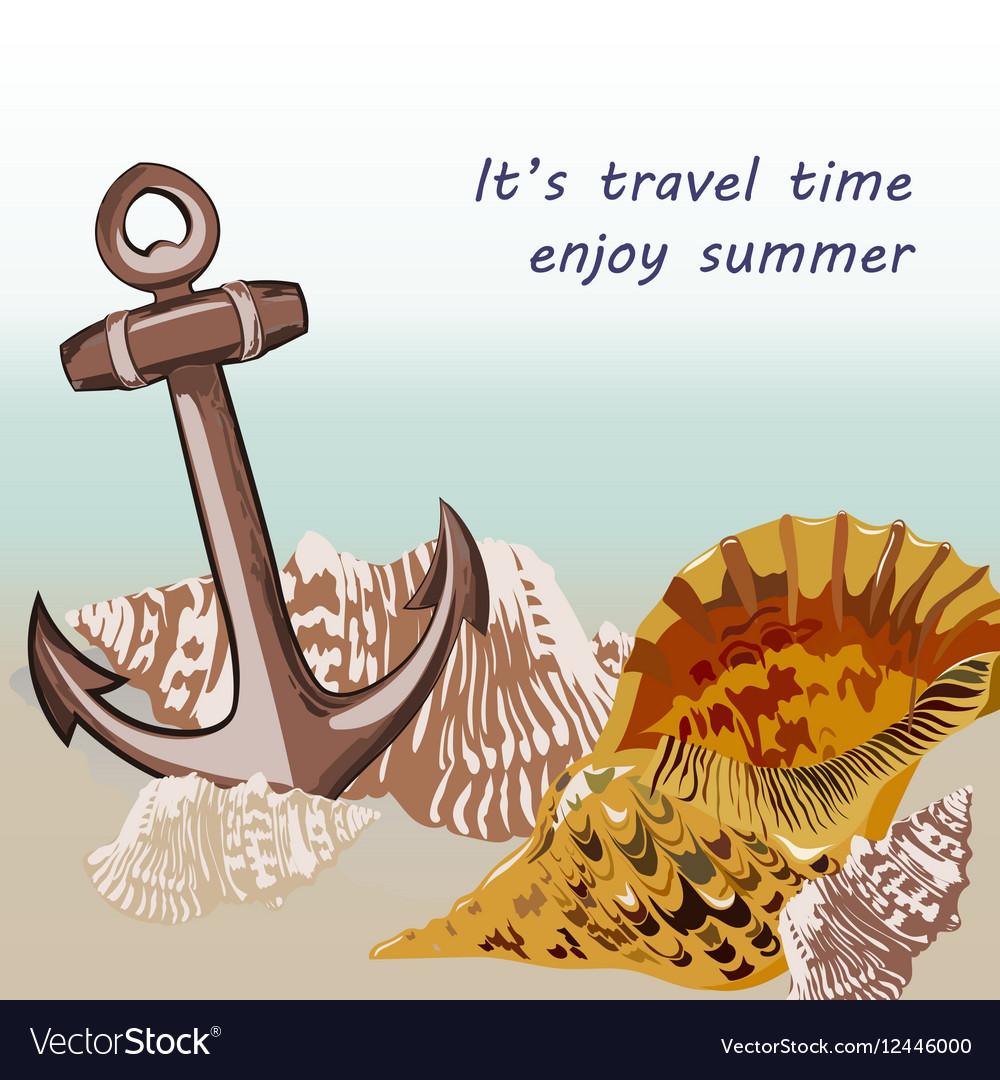 Nautical Marine theme card