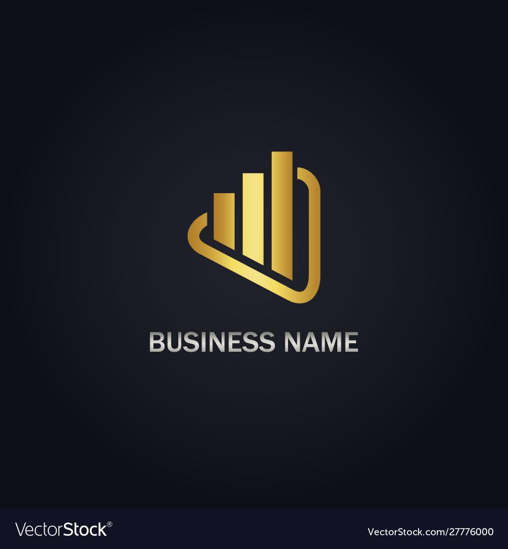 Shape growth business company logo