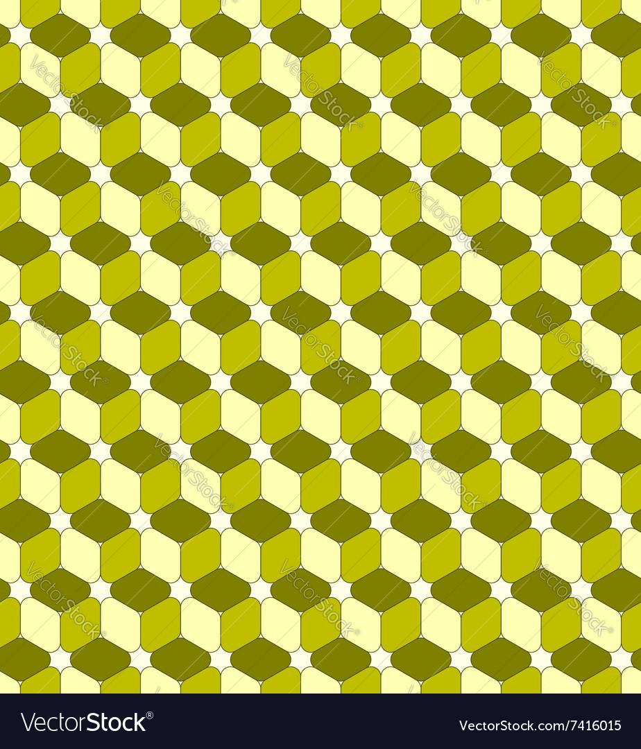 Cube seamless pattern