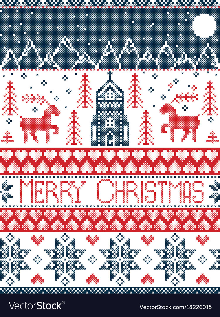 Christmas Cross Stitch Patterns Best Design Inspiration