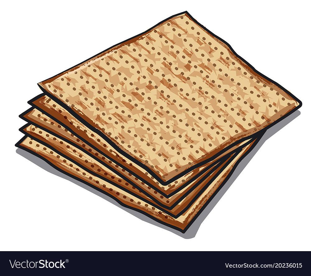 Traditional jewish matzoh