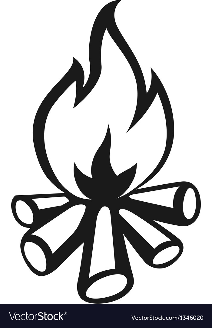 Go Back > Gallery For > Campfire Silhouette Vector