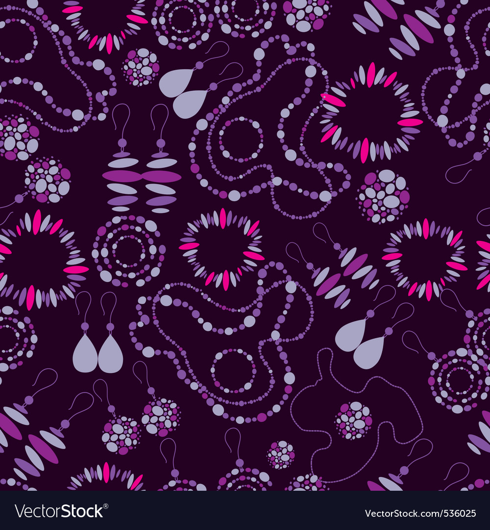 Fashion Jewelry Patterns Royalty Free Vector Image