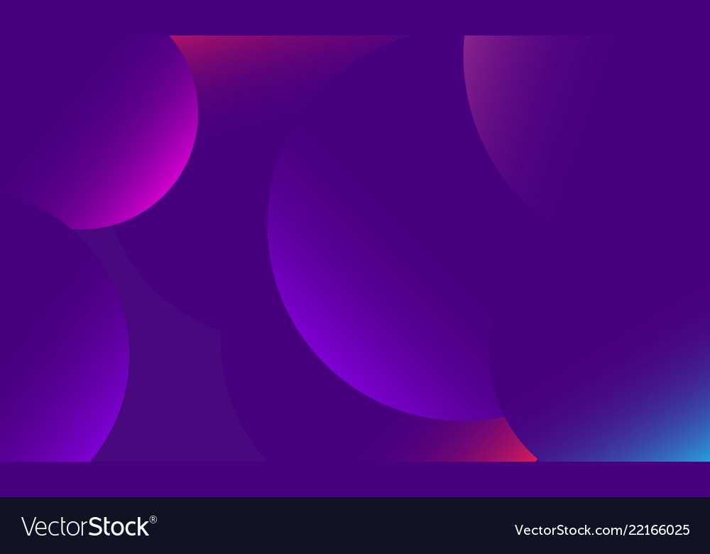 Trendy backgroundcomposition with round gradient