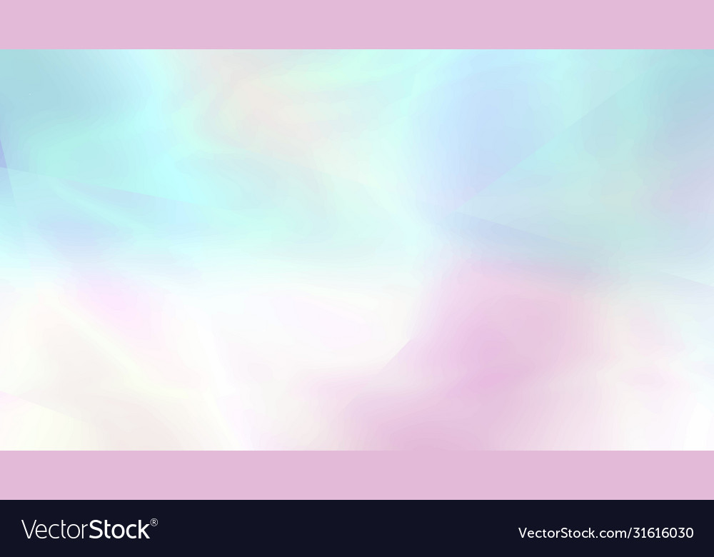 Holographic abstract blurred background in light