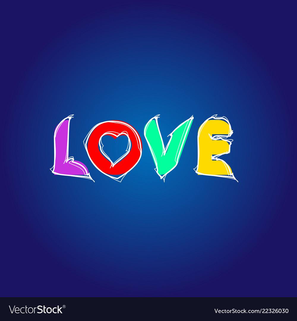 Love letter in