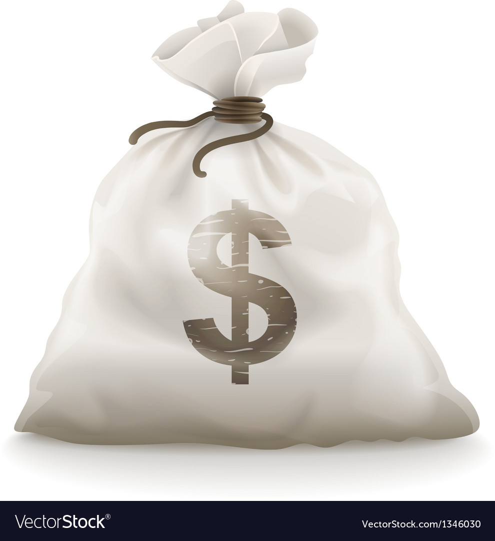 Sack with money