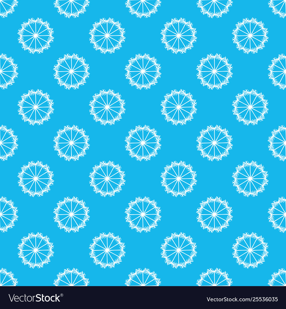 Abstract geometric dandelion pattern background