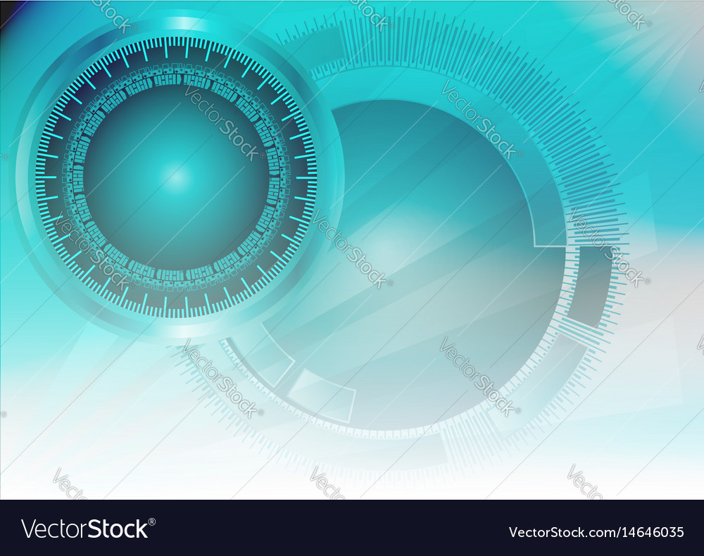 Blue color light abstract technology background