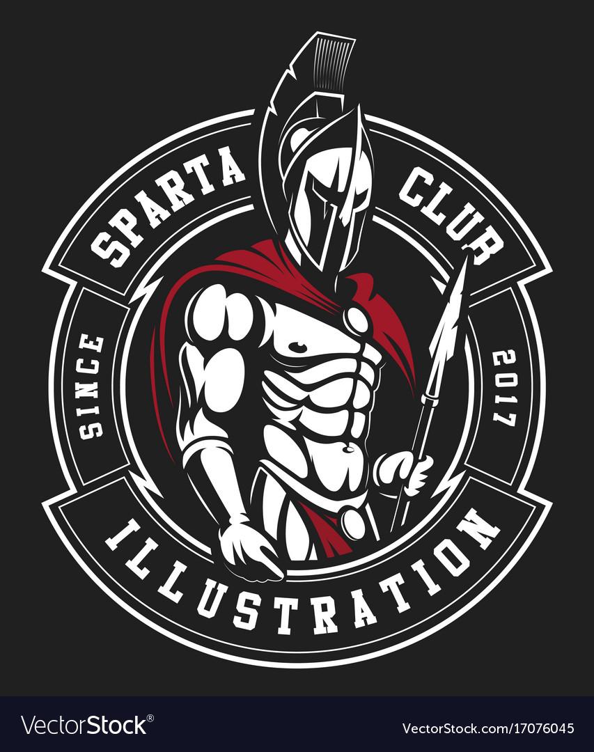 gladiator emblem royalty free vector image vectorstock rh vectorstock com gladiator loop hooks gladiator locomotives online sales