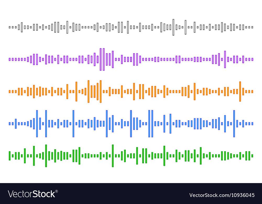 Set audio line eps 10