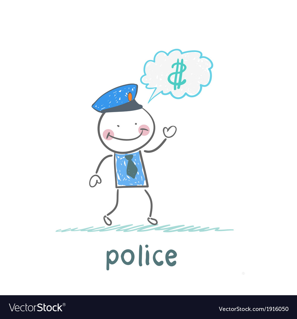 Police think about the money