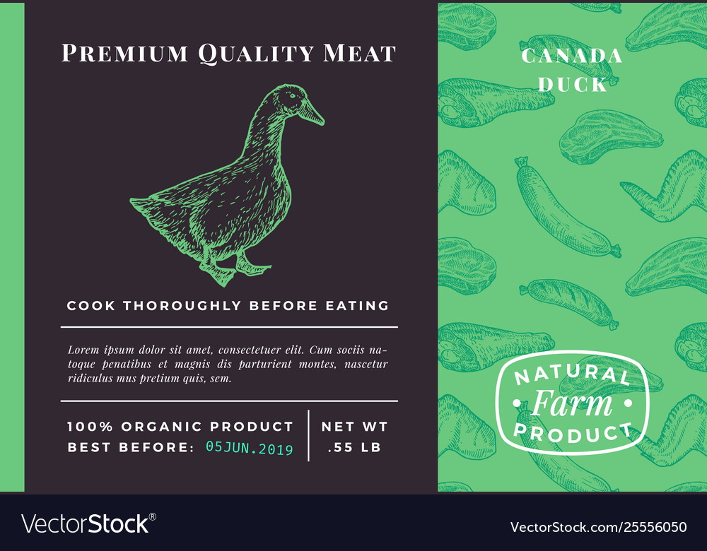 Premium quality meat abstract poultry