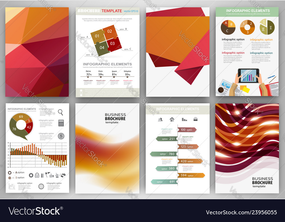 Red and orange backgrounds and abstract concept