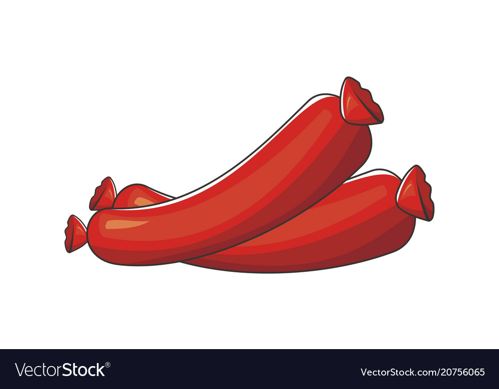 Sausage logo design template