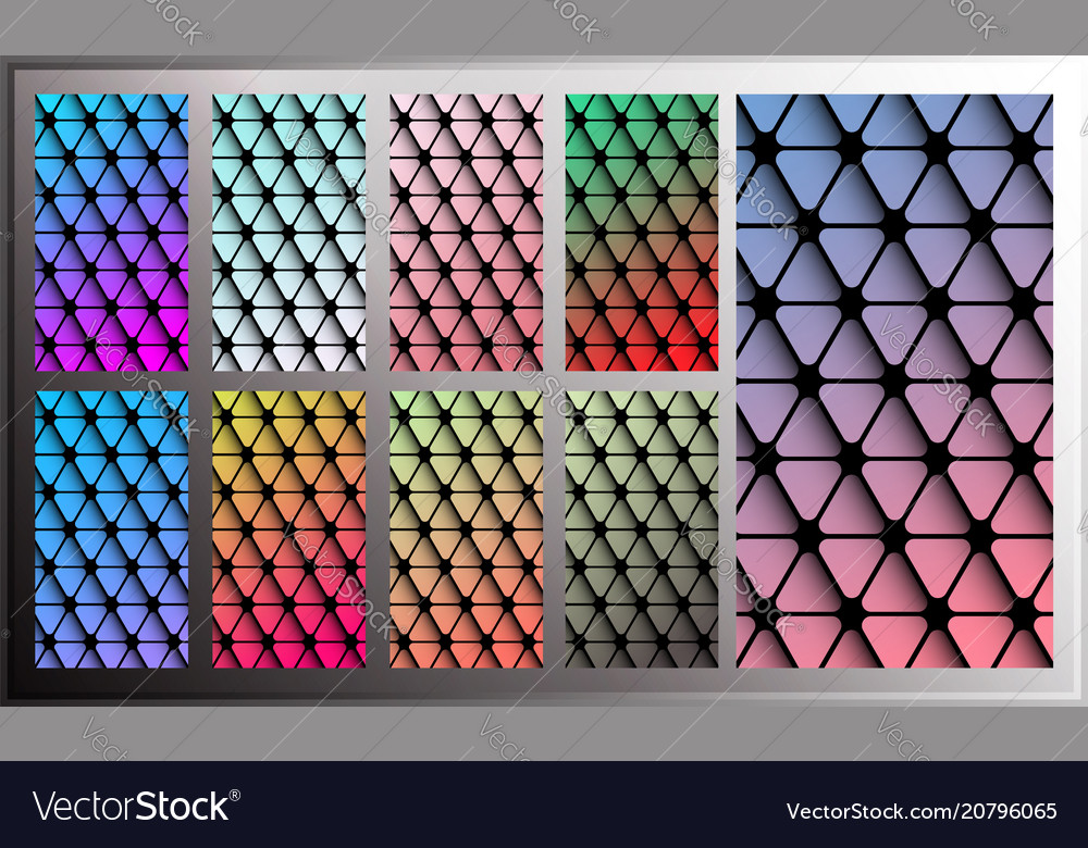 Triangle gradient wallpaper for smartphone screen