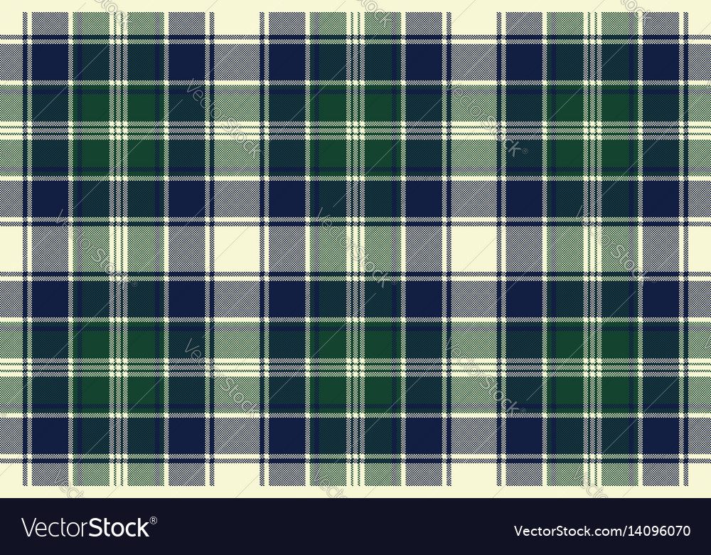Classic check plaid seamless pixel fabric texture