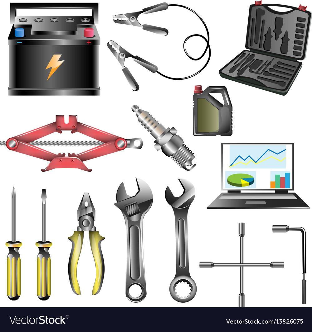 Car service tool car