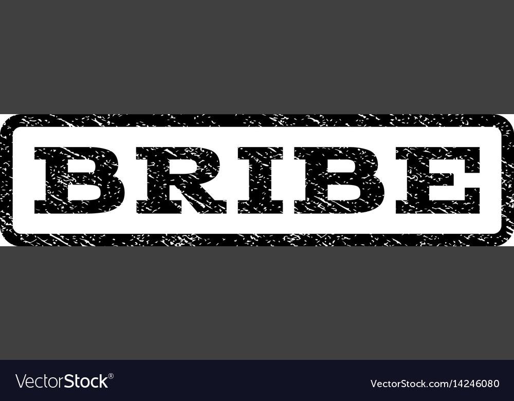 Bribe watermark stamp