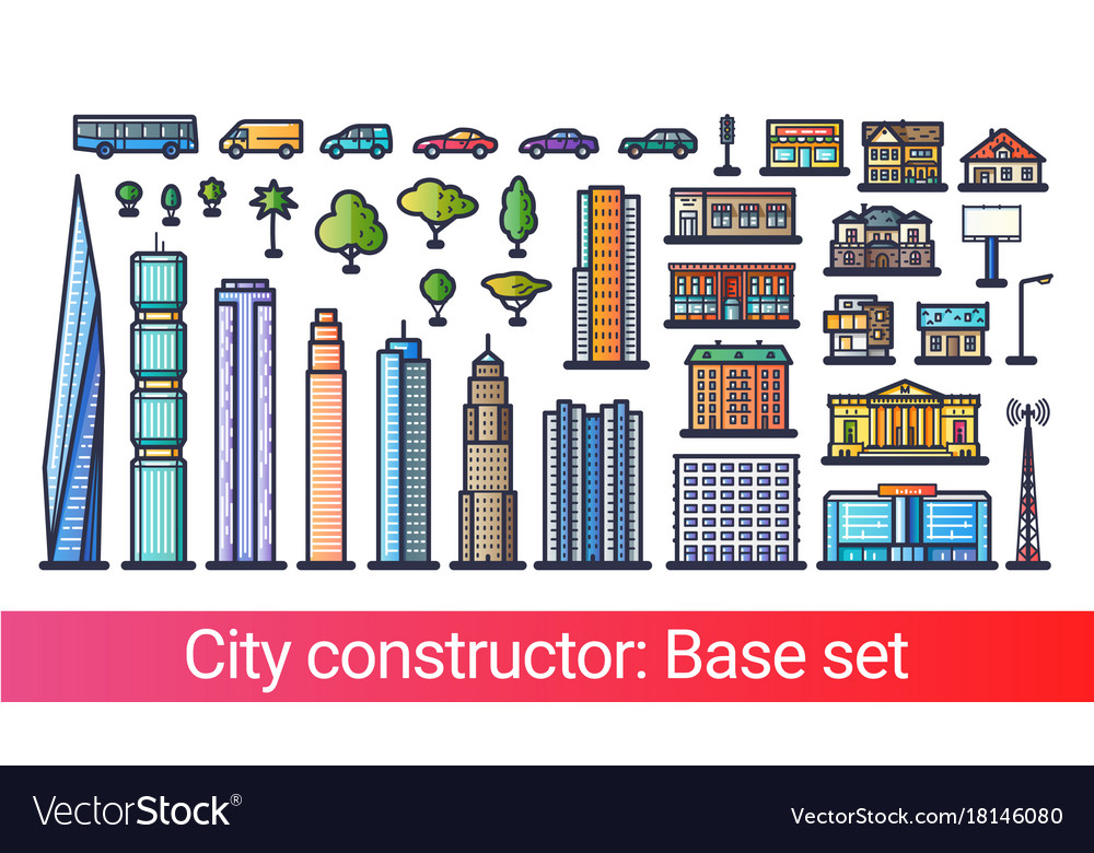 City constructor flat line