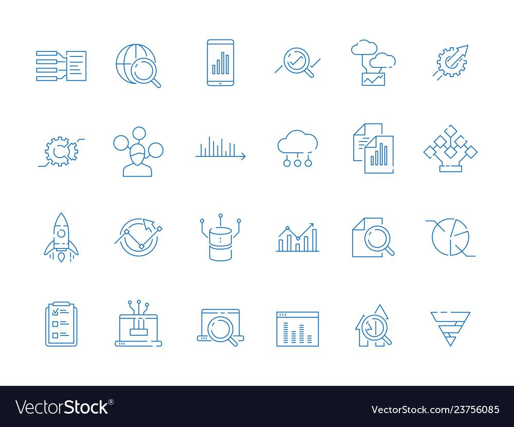 Data analysis symbols business diagram analytics