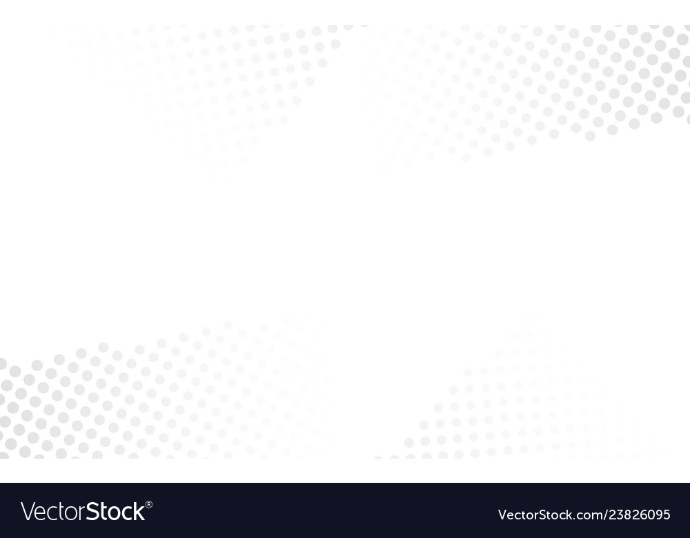 Abstract halftone white background