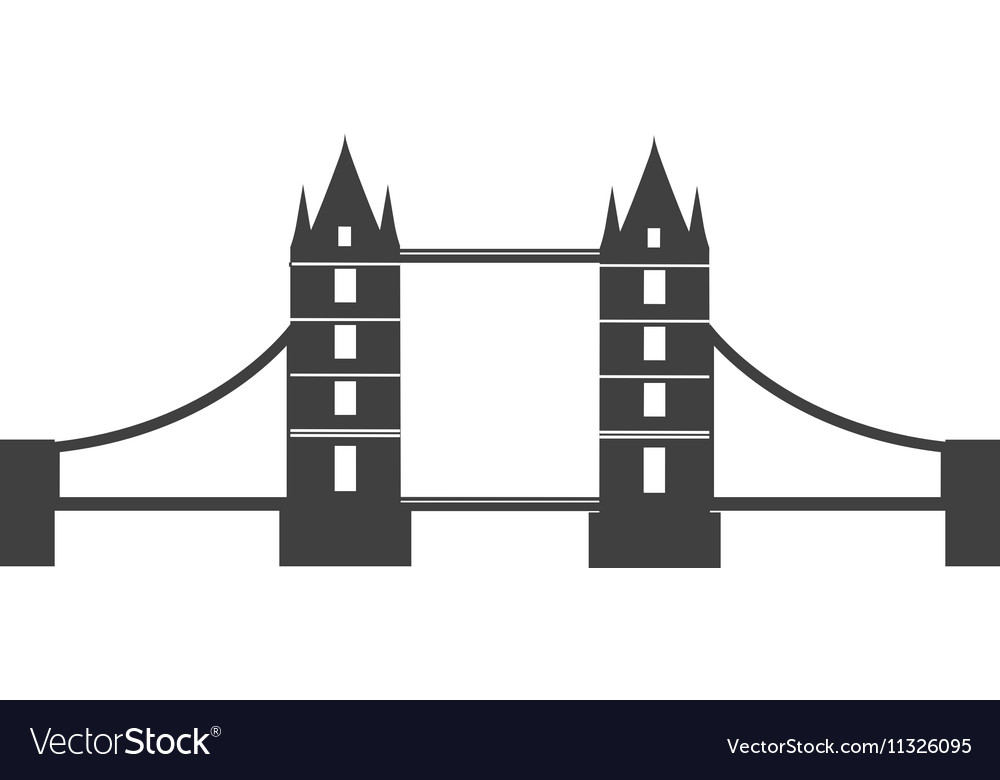Classic British bridge icon