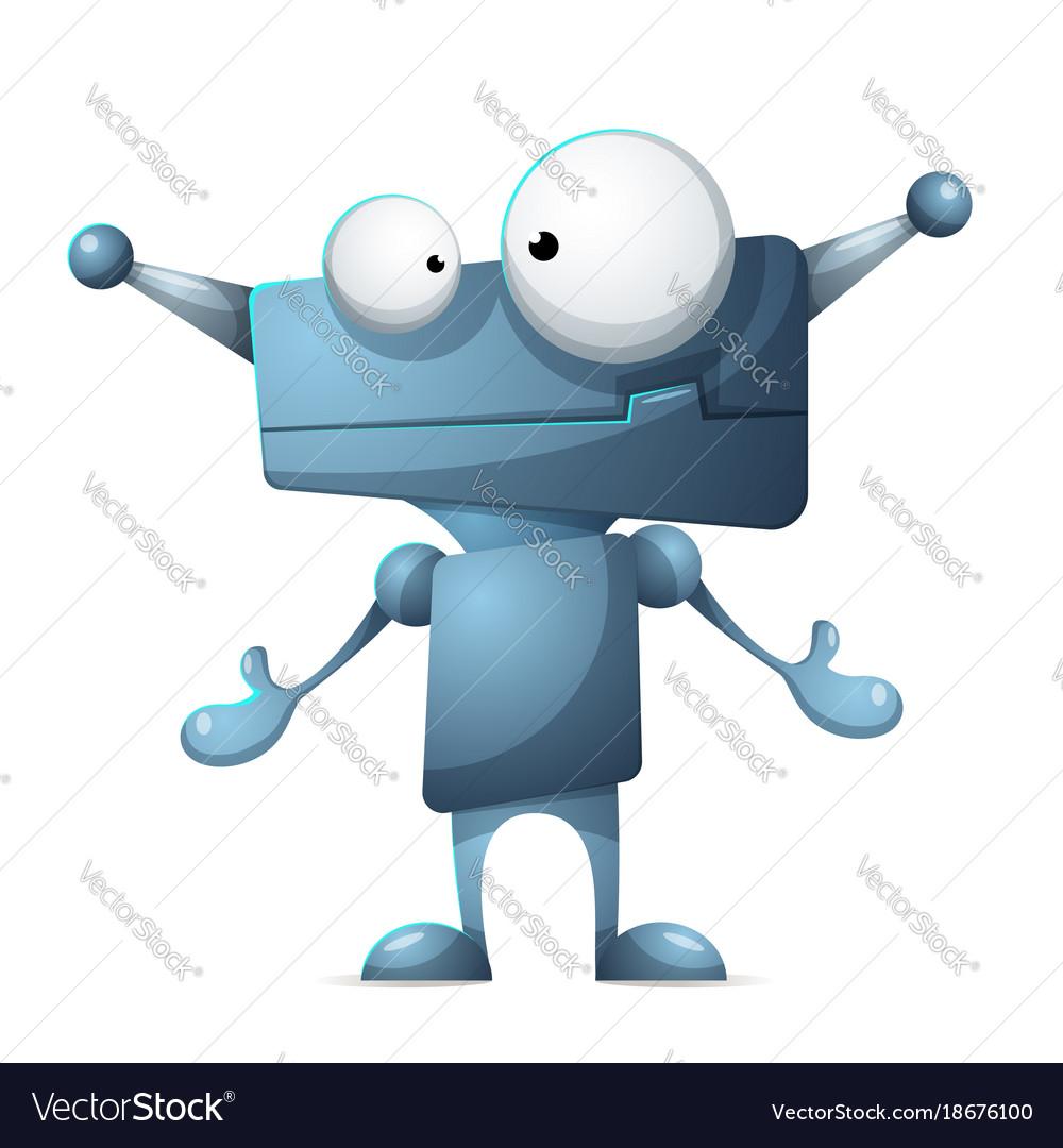 Robot Clip Art Monster Funny