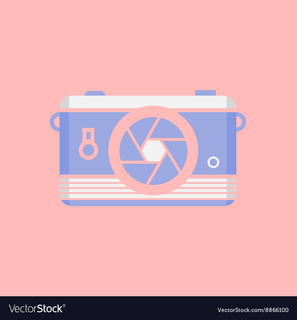 Modern flat design web icon or logo cool vector image