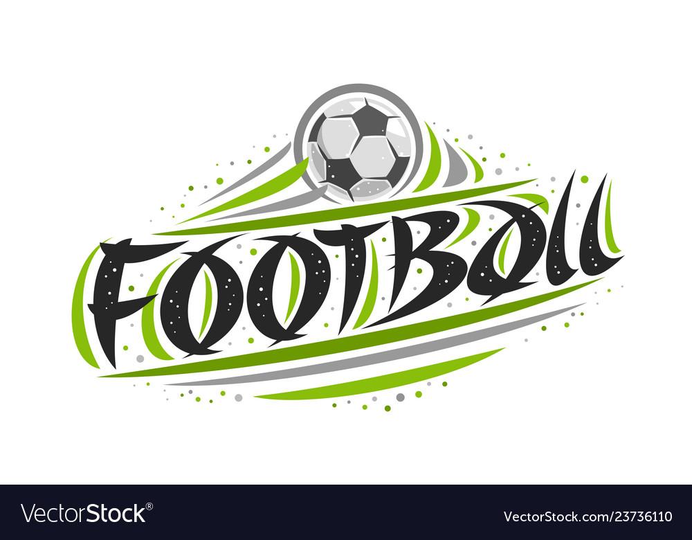 Logo for football