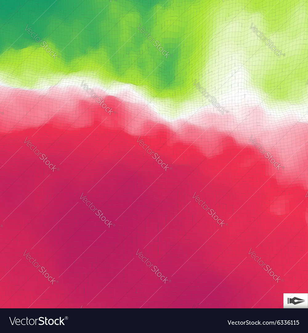 Abstract Geometric Background With Polygons Mosaic vector image