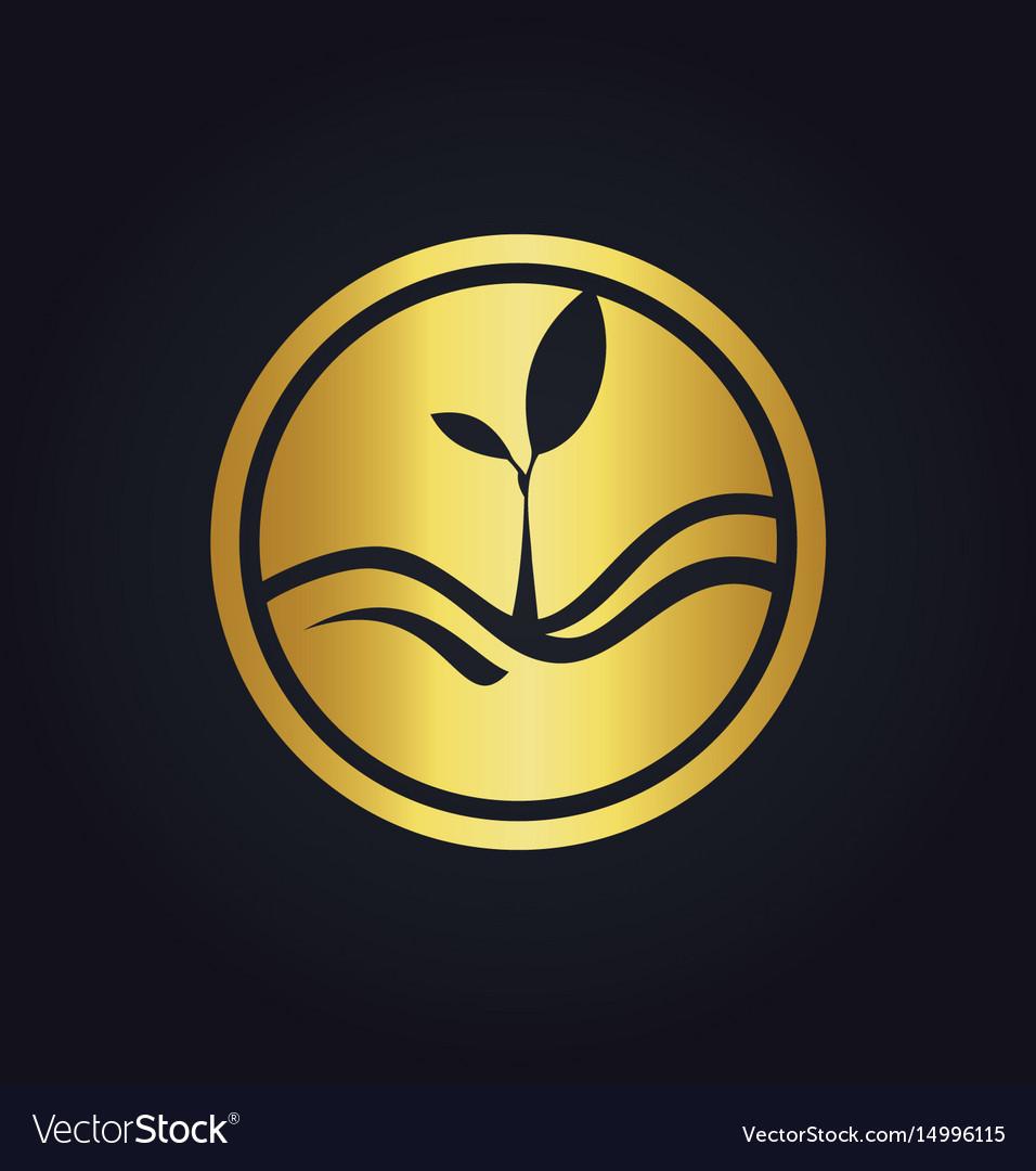 Plant gold ecology logo