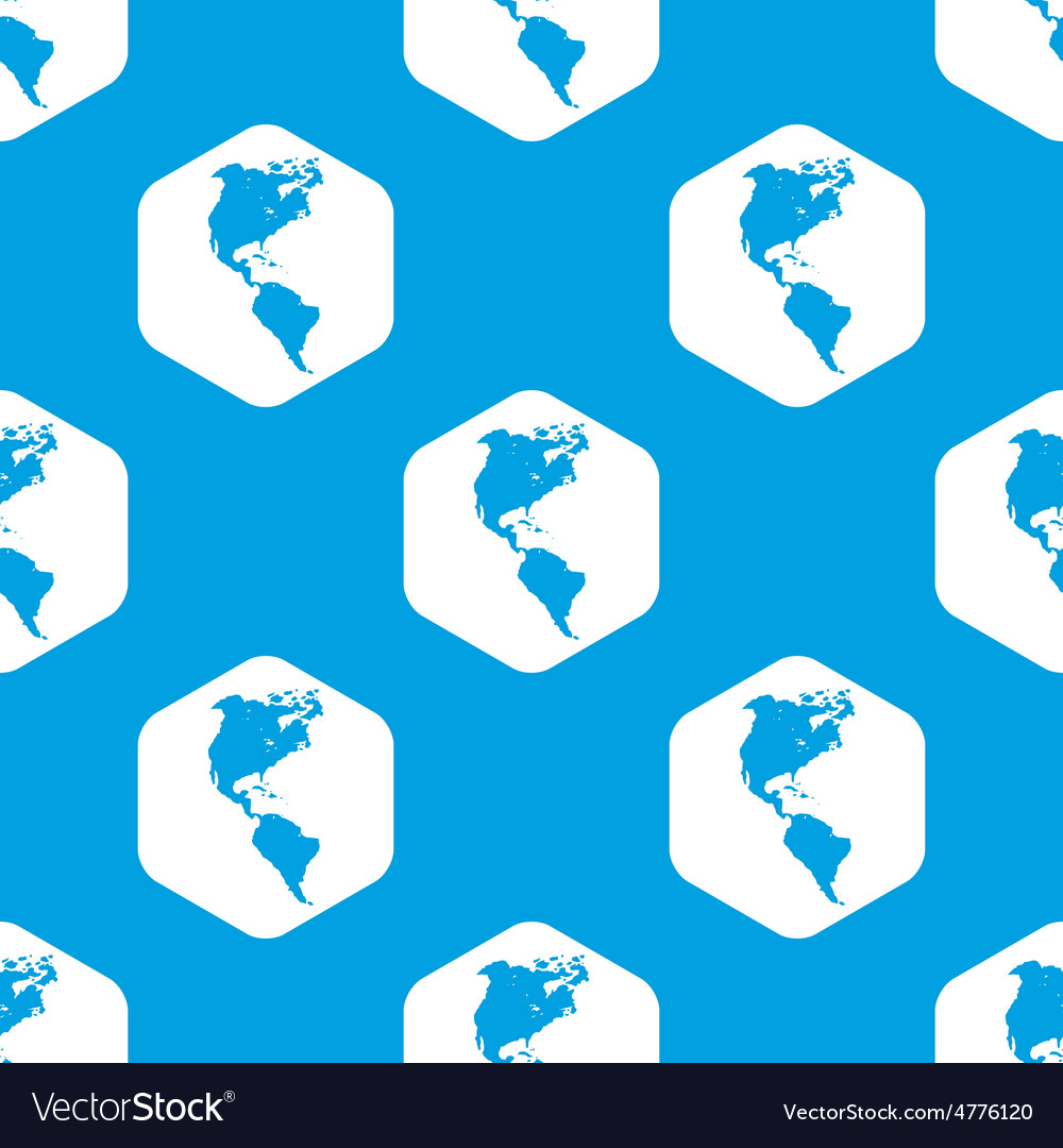 America hexagon pattern