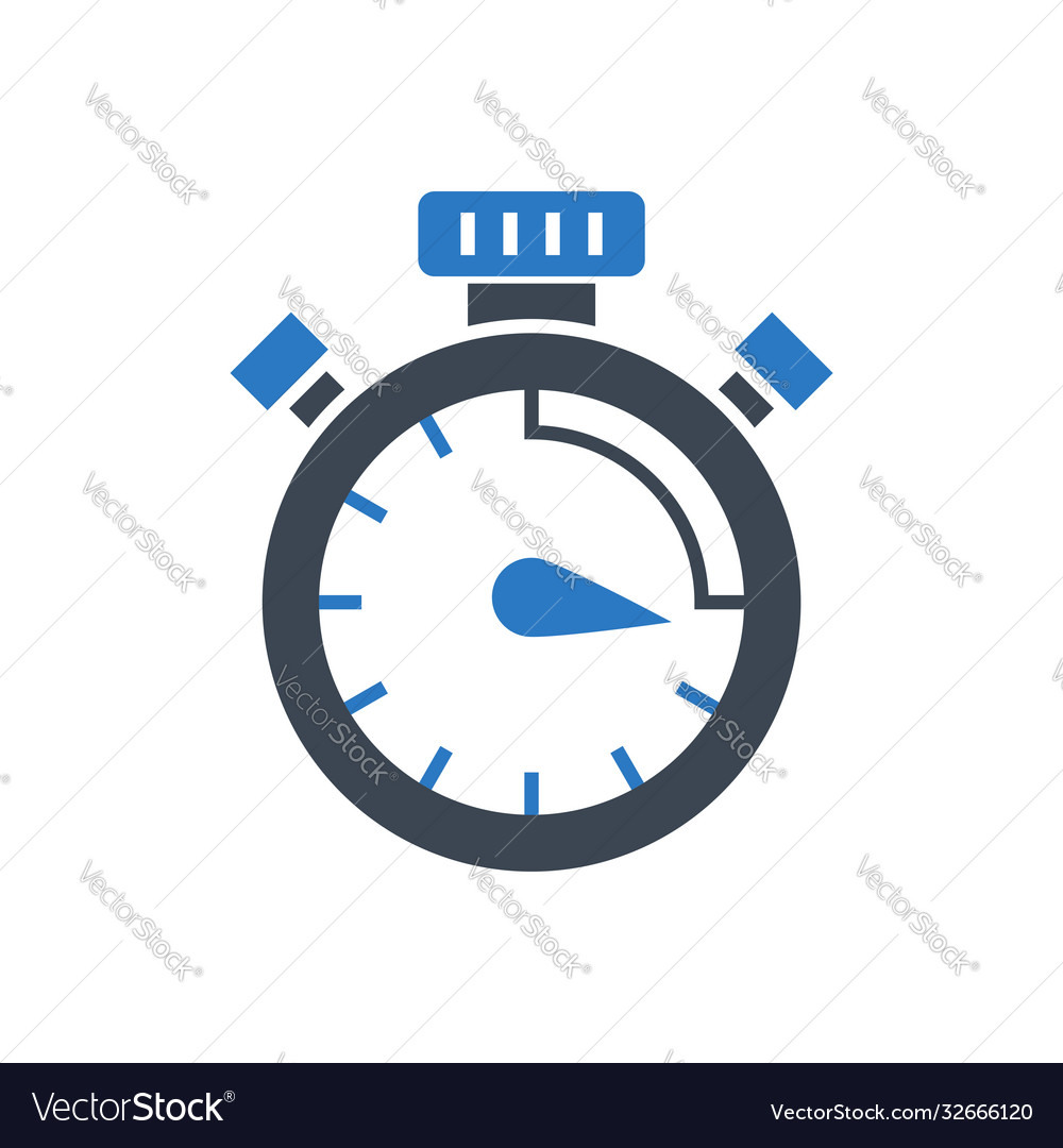 Campaign timing glyph icon