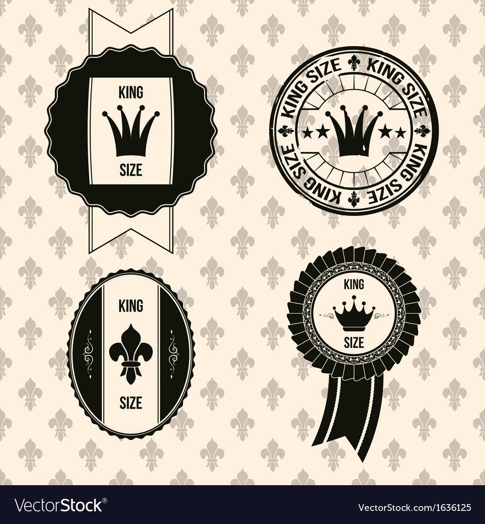 King royal labels