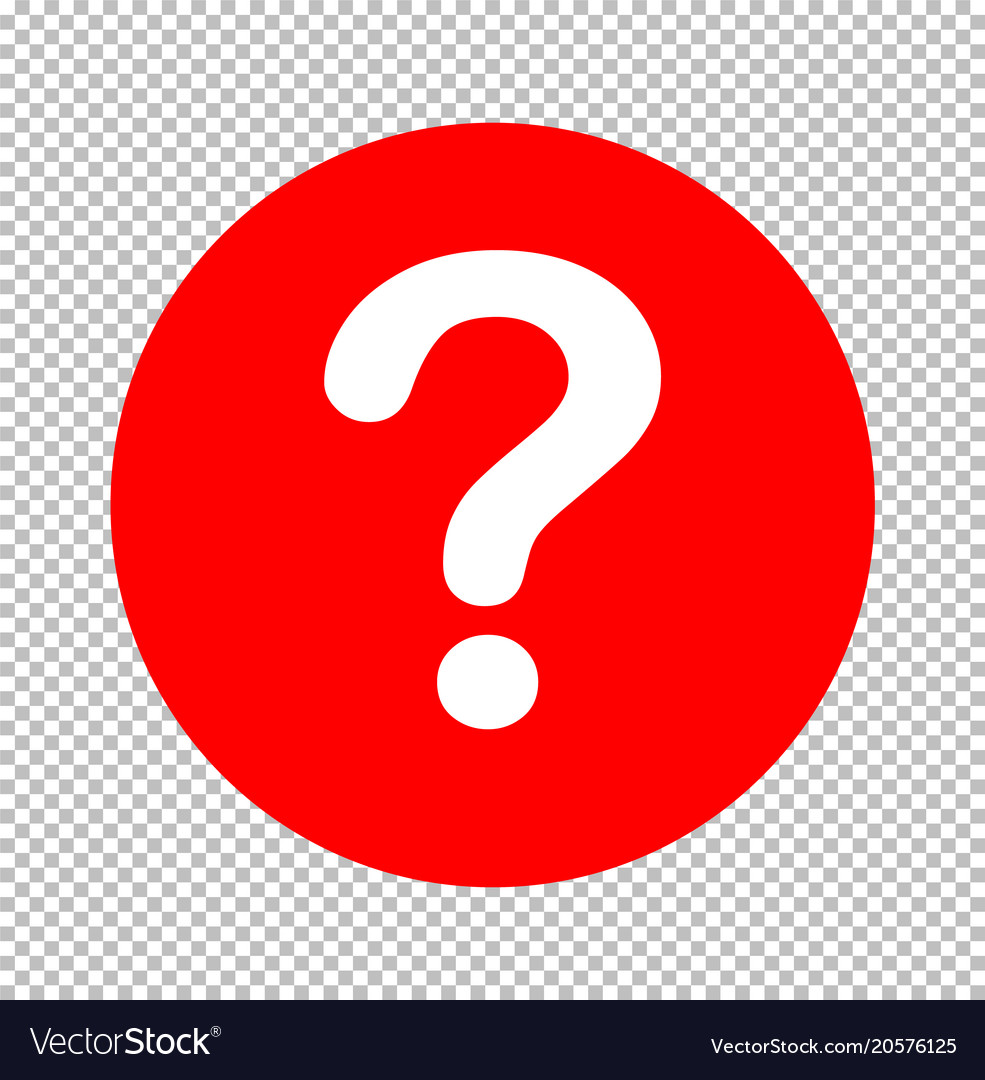 Question mark icon sign transparent question mark